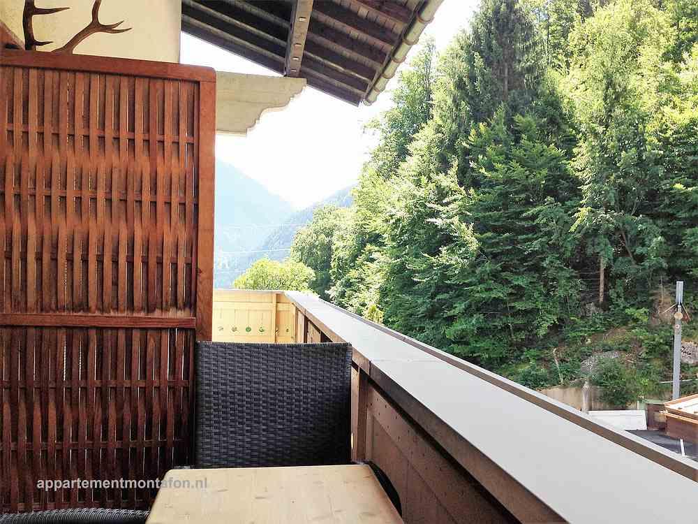 Ferienwohnung Tschagguns uitzicht